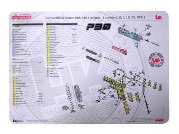 NCH | P30 | Zbrojířská podložka