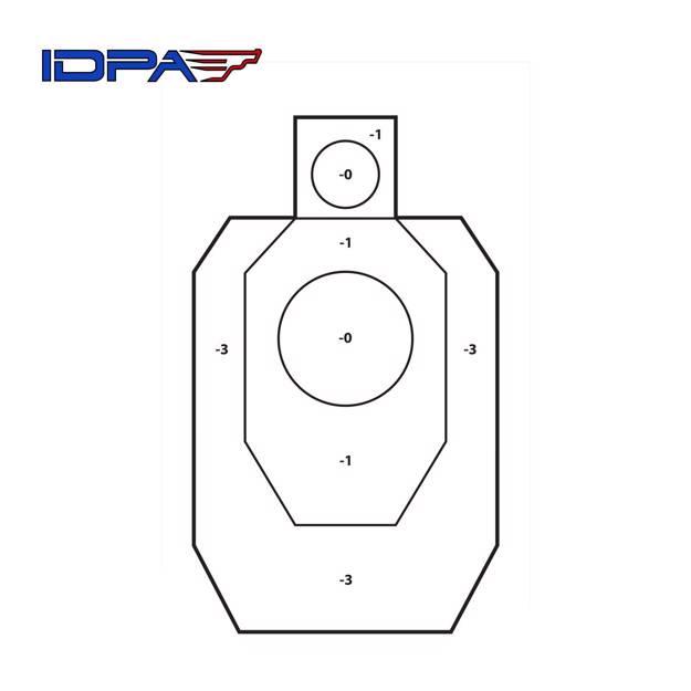IDPA | oficiální terč