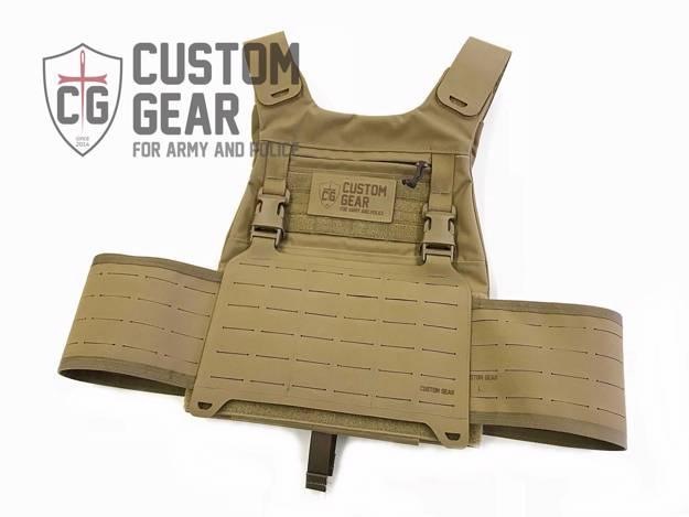 CustomGear   Nosič CGPC2 G-hook (Coyote Brown)