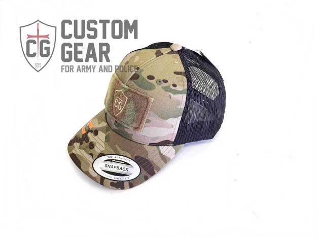 Custom Gear kšiltovka Snapback Mesh Cap (Multicam)