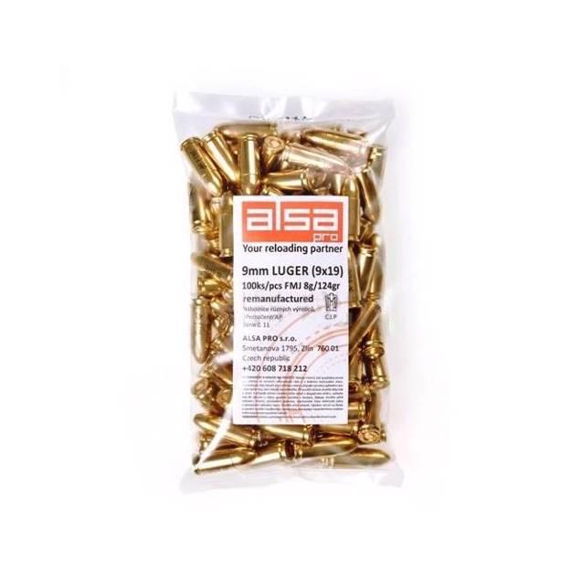 Alsa Pro 9mm Luger AP (FMJ, 124 grs)