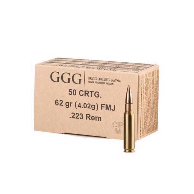 GGG .223 Rem (FMJ, 62 GRS)